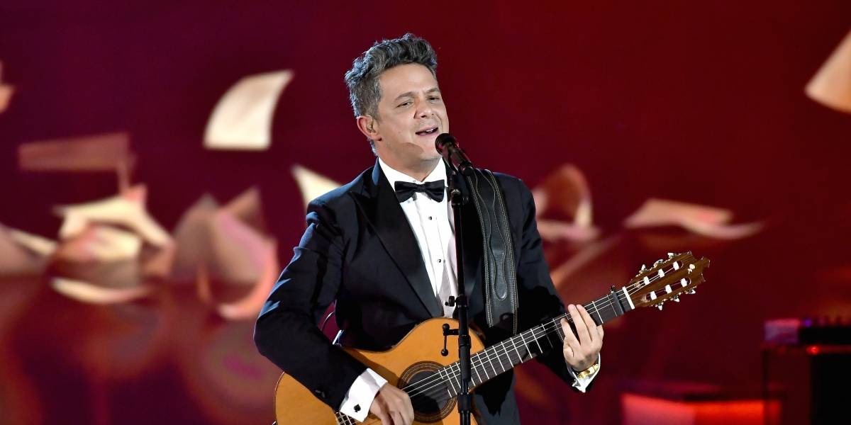 Alejandro Sanz recibe premio Persona 2017 en Grammy Latino