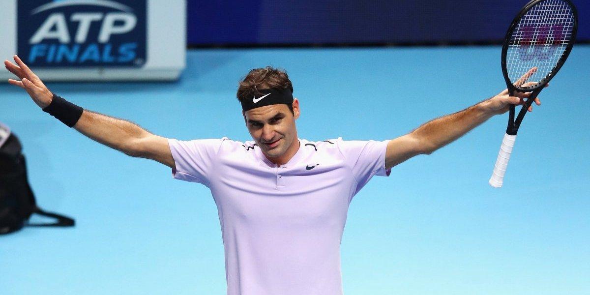 Roger Federer avanza invicto a Semifinales de la ATP