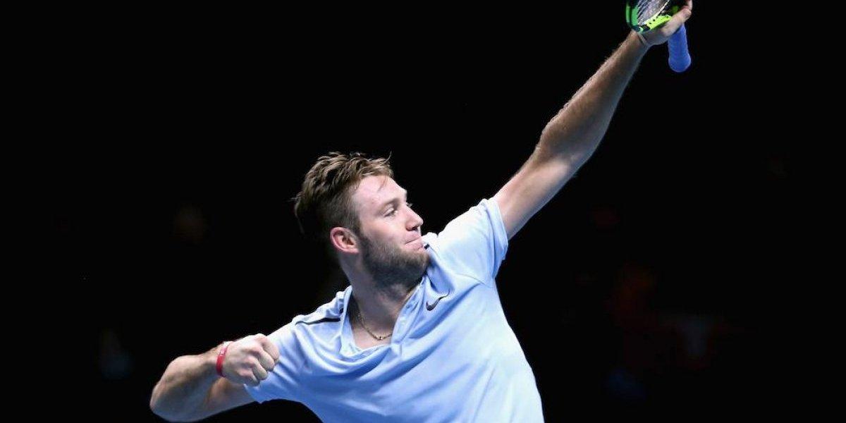 Jack Sock se enfrentará con Dimitrov en la Copa Masters