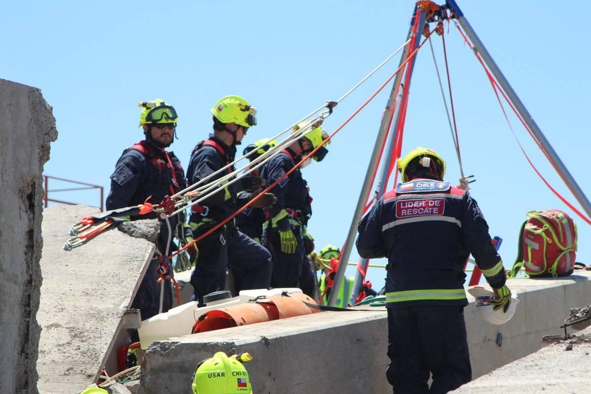 Bomberos en rescate