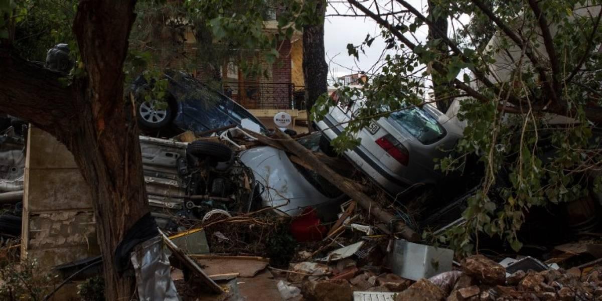 FOTOS. Al menos 15 muertos por las inundaciones en Grecia