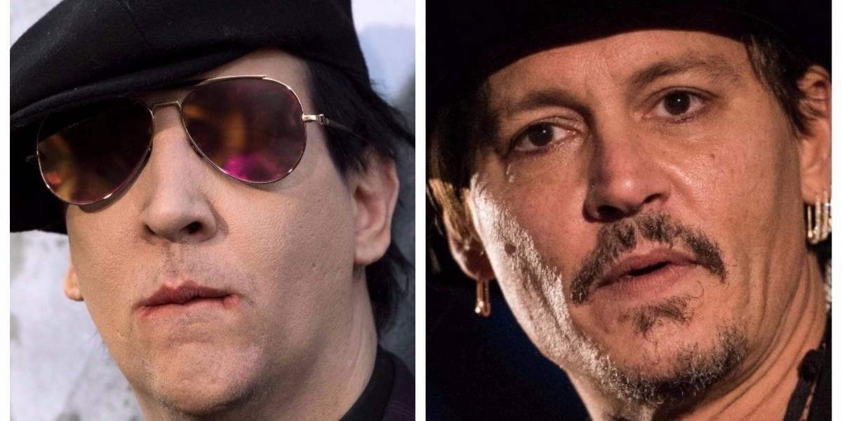 Johnny Depp y Marilyn Manson protagonizan controversial video con alto contenido sexual