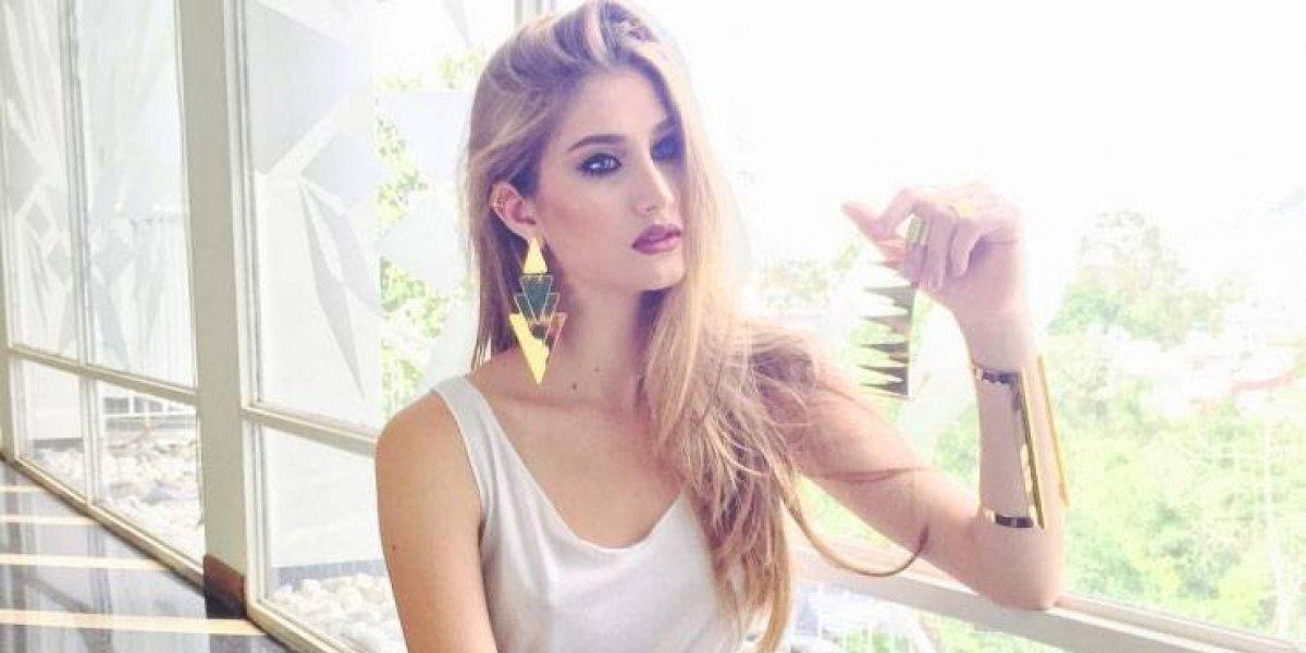 ExMiss Venezuela y su transparente vestido y tremendo escote en los Latin Grammy