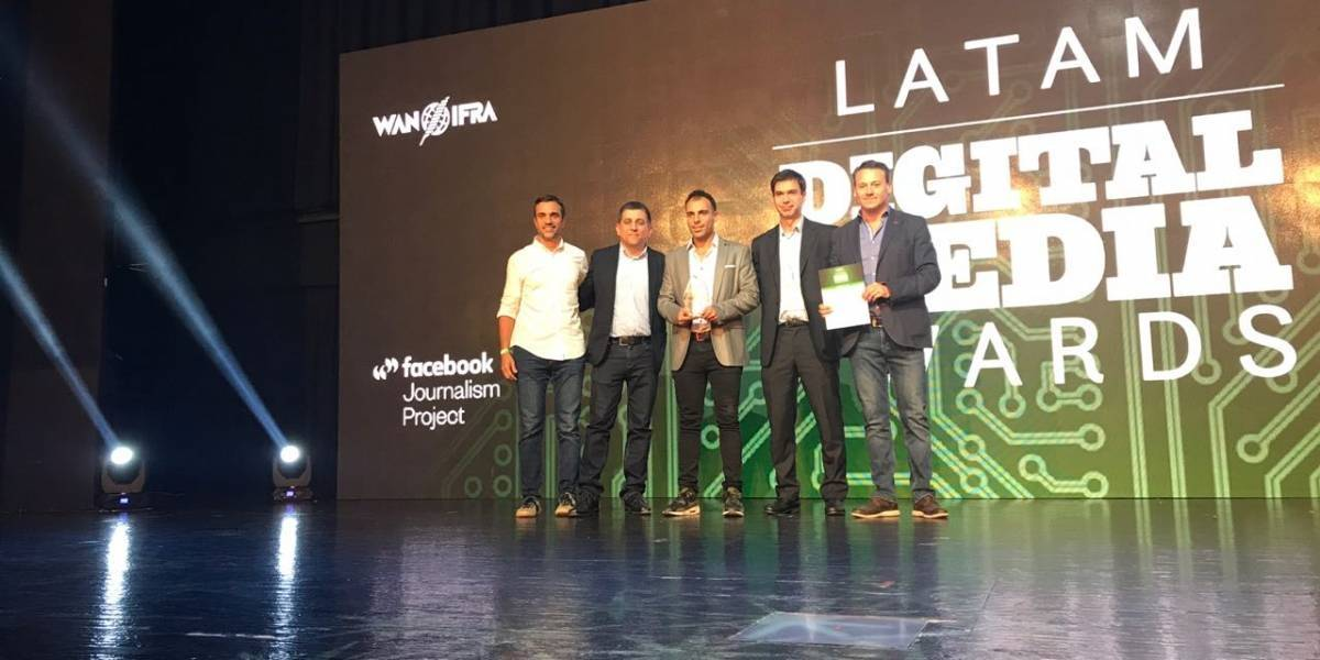 Metro, en lo más alto de los Latam Digital Media Awards 2017