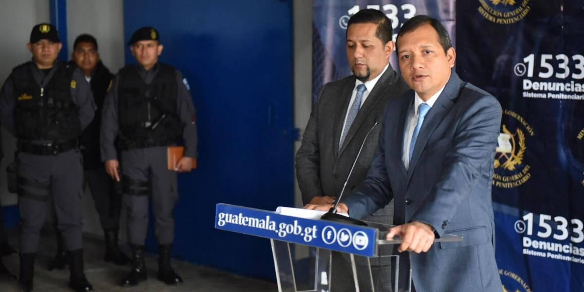 VIDEO. Ministro de Gobernación señala que brindan seguridad a empresa de telefonía tras ataques por extorsión