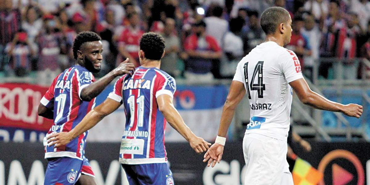 Santos cai diante do Bahia e se complica na briga pelo vice