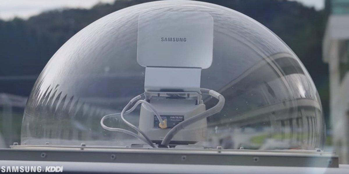 KDDI y Samsung rompen récord en prueba de movilidad de alta velocidad 5G