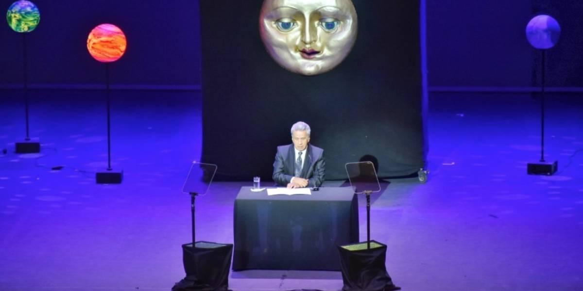 Moreno participó en el Festival Internacional de las Artes Vivas Loja