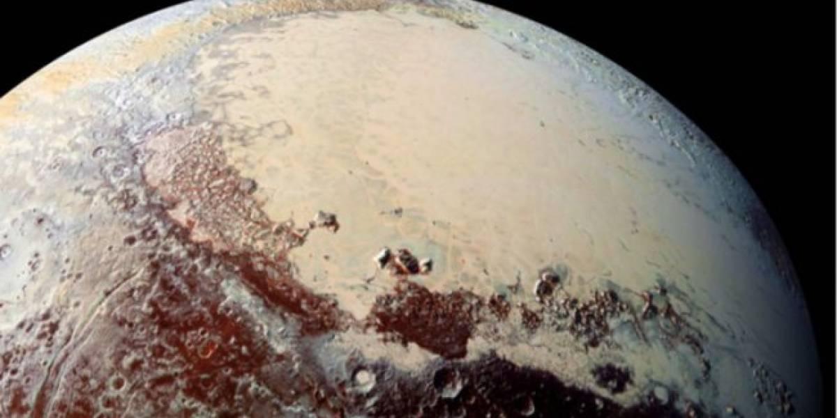 Plutón tendría una temperatura muy baja