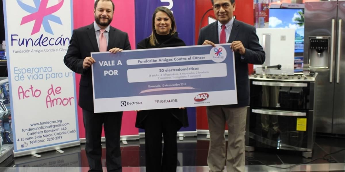 Fundecán recibe electrodomésticos para continuar su lucha contra el cáncer de mama