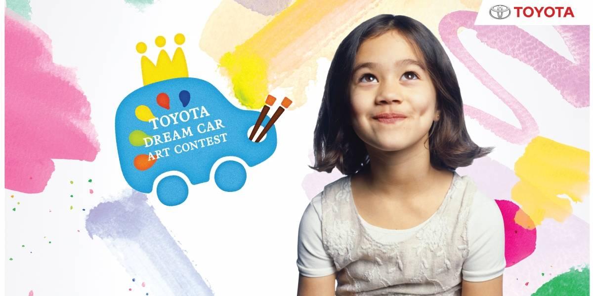 Los niños dibujan el auto del futuro alentados por Toyota