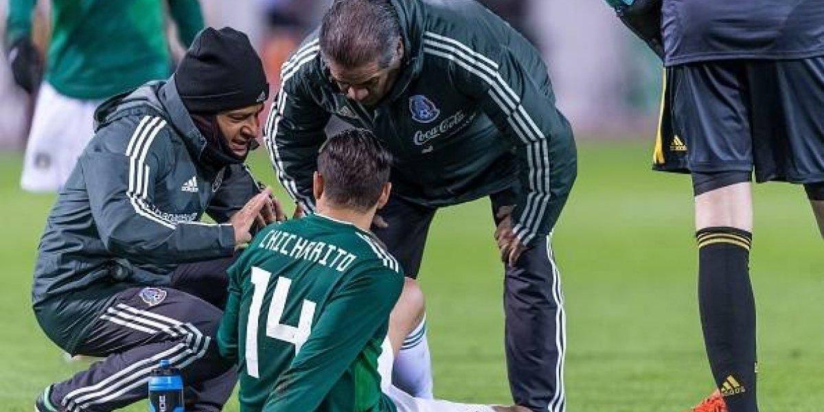 Javier Hernández se lesiona y no estará para jugar con el West Ham United