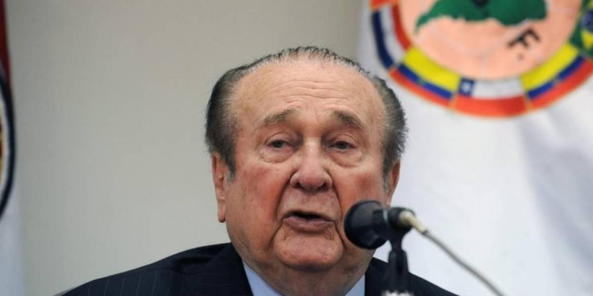 La justicia de Paraguay autoriza la extradición a EE.UU. de Nicolás Leoz, el expresidente de Conmebol vinculado al caso de corrupción de dirigentes de la FIFA