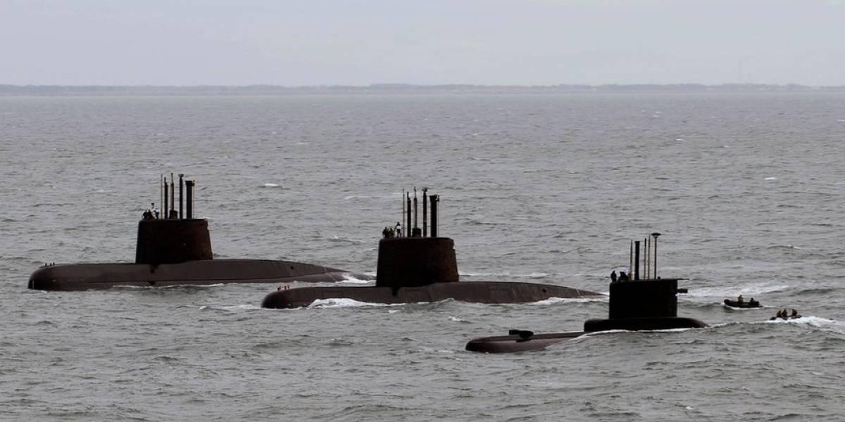 Un submarino en Argentina desaparece con 44 personas a bordo