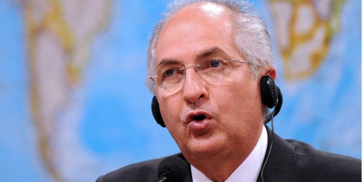 Ya van ocho detenidos en Venezuela por fuga del opositor Antonio Ledezma