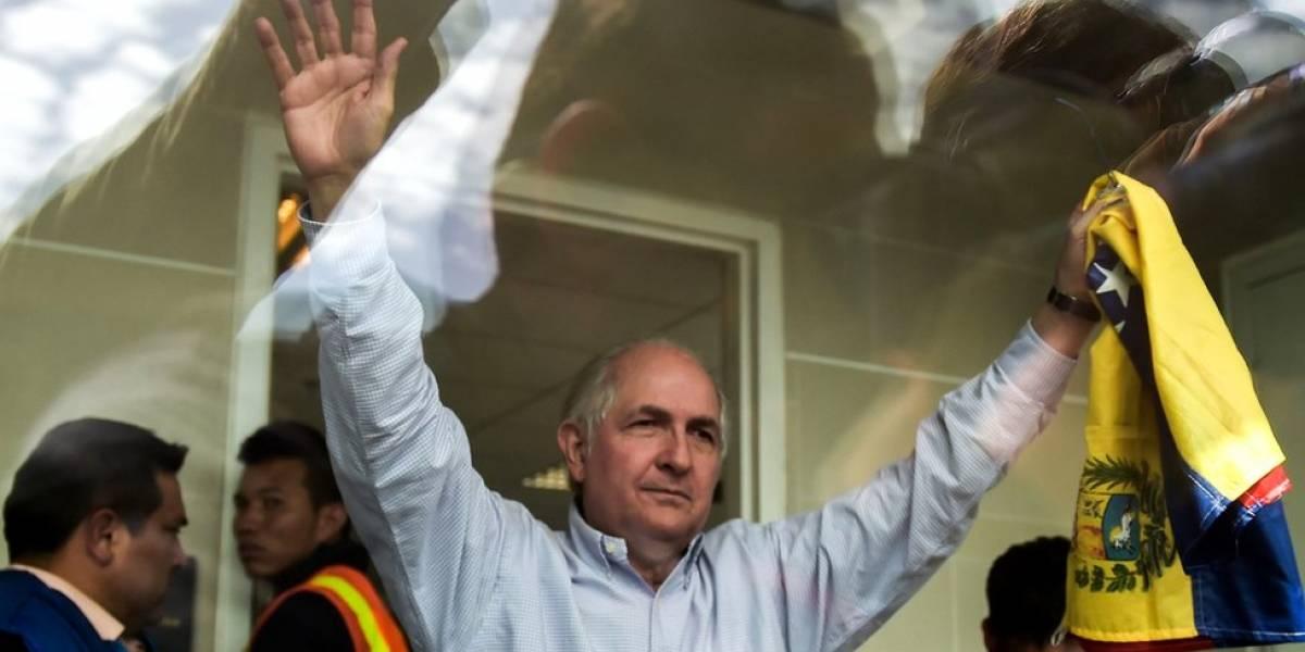"""Quién es Antonio Ledezma, el exalcalde de Caracas que huyó de Venezuela y anuncia un """"peregrinaje por todo el mundo"""" para denunciar al gobierno de Maduro"""