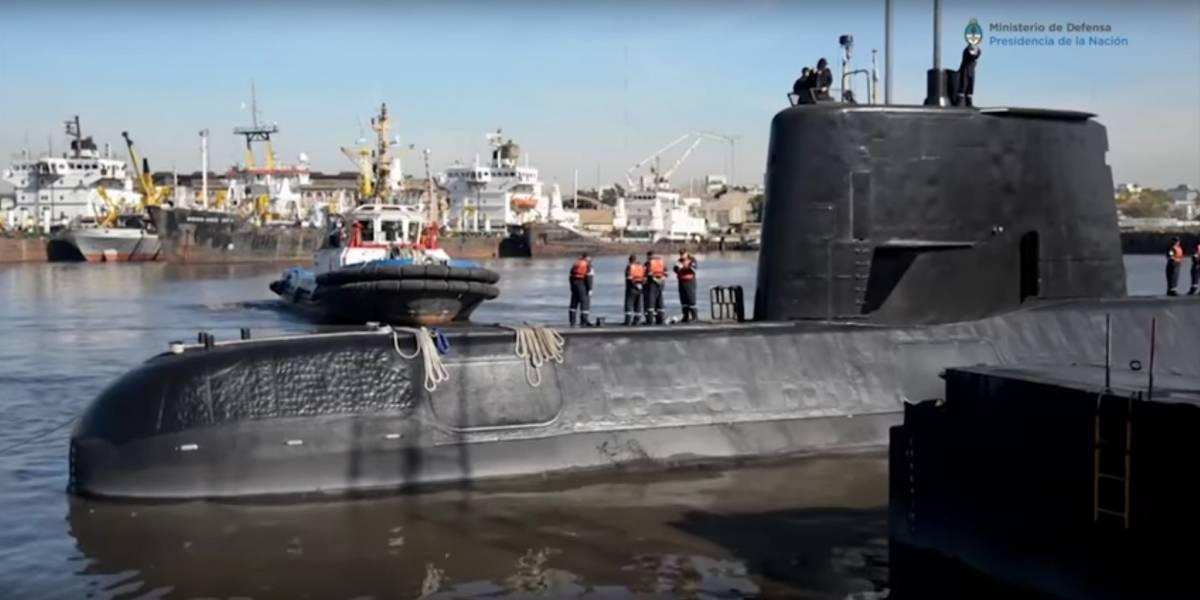 Buscan intensamente submarino argentino que desapareció con 44 tripulantes