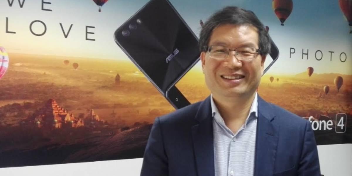 """Un nuevo invitado al mercado de los smartphone: Zenfone 4 llega a Chile y CEO de Asus promete """"el factor ¡Wow!"""" a los usuarios"""