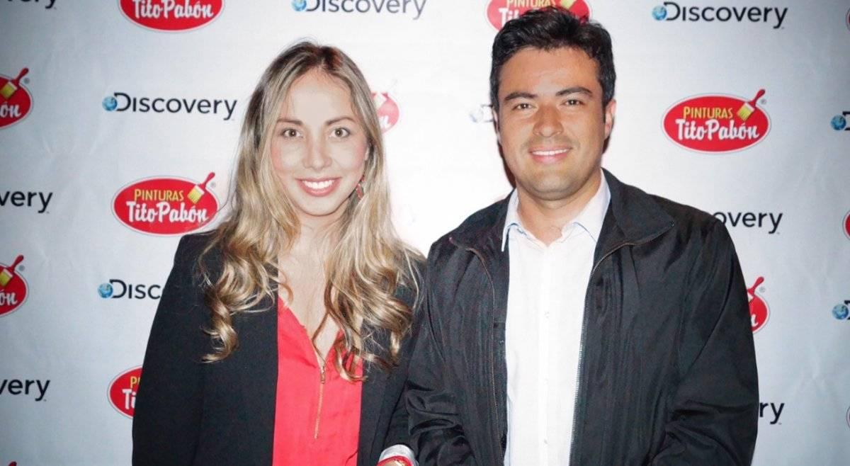 Natalia Valderrama y César Blanco. Cortesía