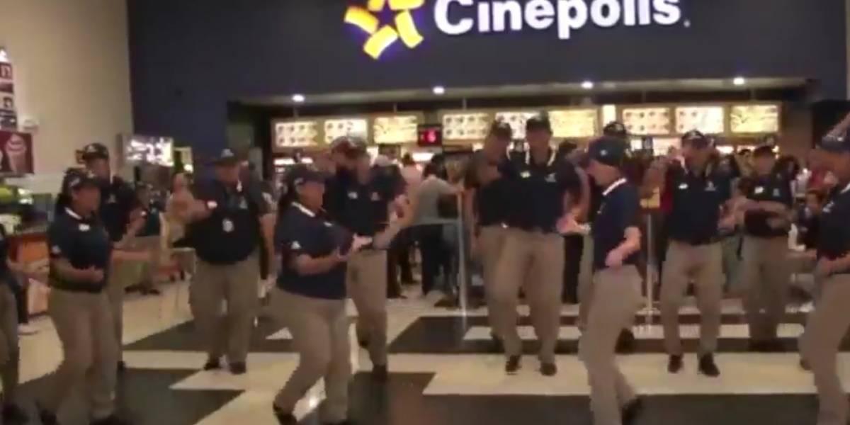 El gracioso comercial de los empleados de Cinépolis que es viral