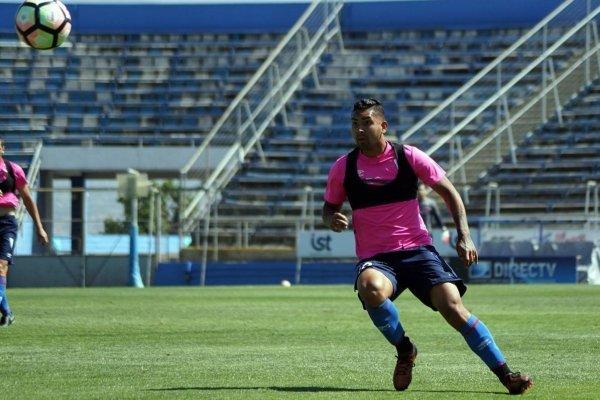 Jeisson Vargas anotó dos goles ante Magallanes / Foto: cruzados.cl