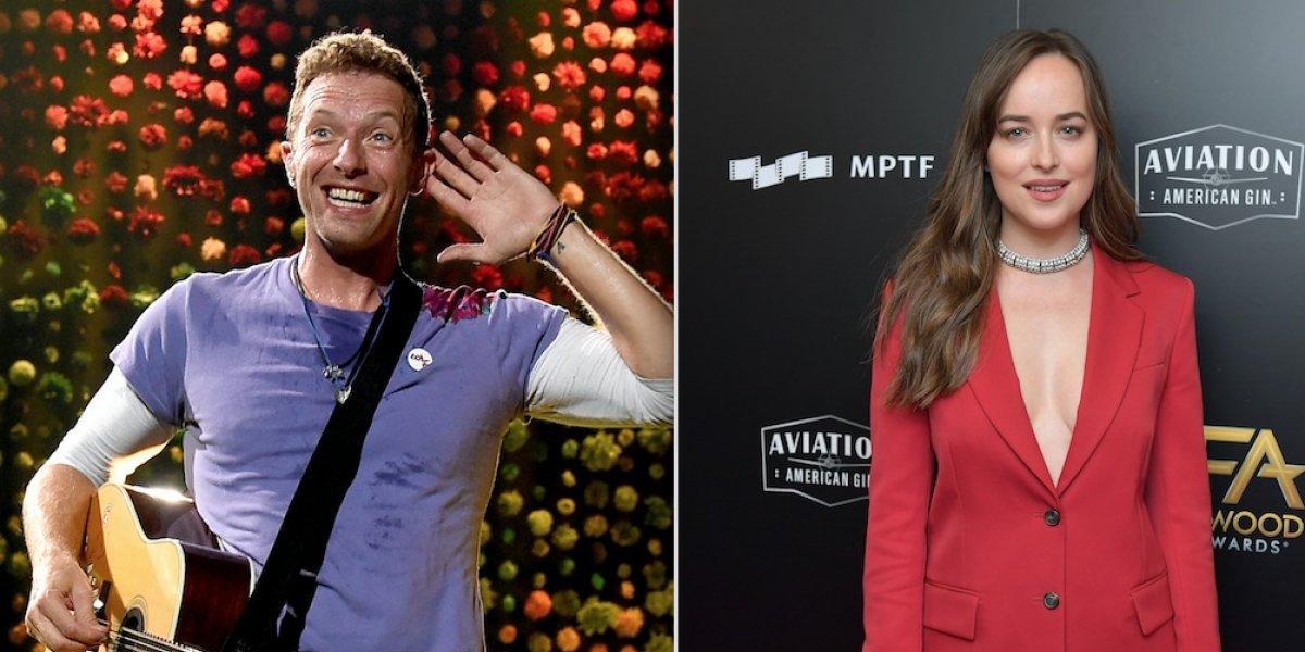 ¿Dakota Johnson y Chris Martin juntos?