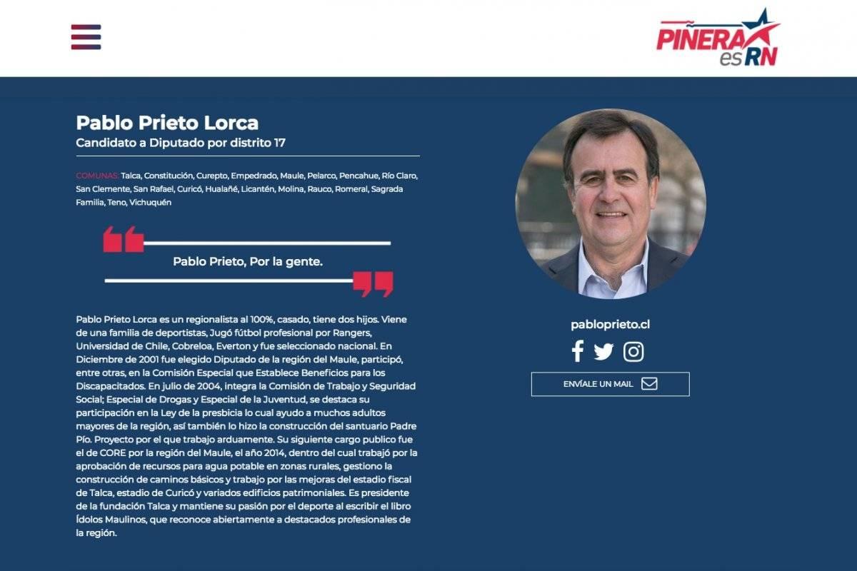 Esposa de David Henríquez lo apuntala como candidato a diputado del PRO