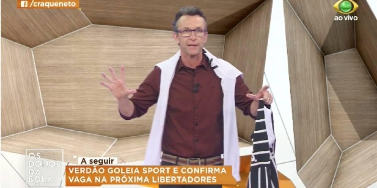 Flamengo é uma vergonha, diz Neto