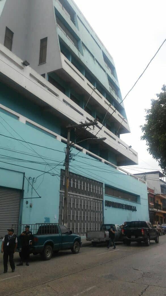 Edificio de Corporación de Noticias. Foto: MP