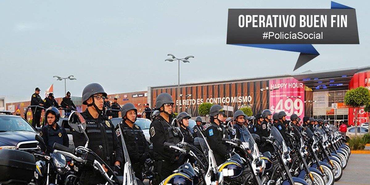 Más de 20 mil policías capitalinos vigilarán la CDMX durante el Buen Fin