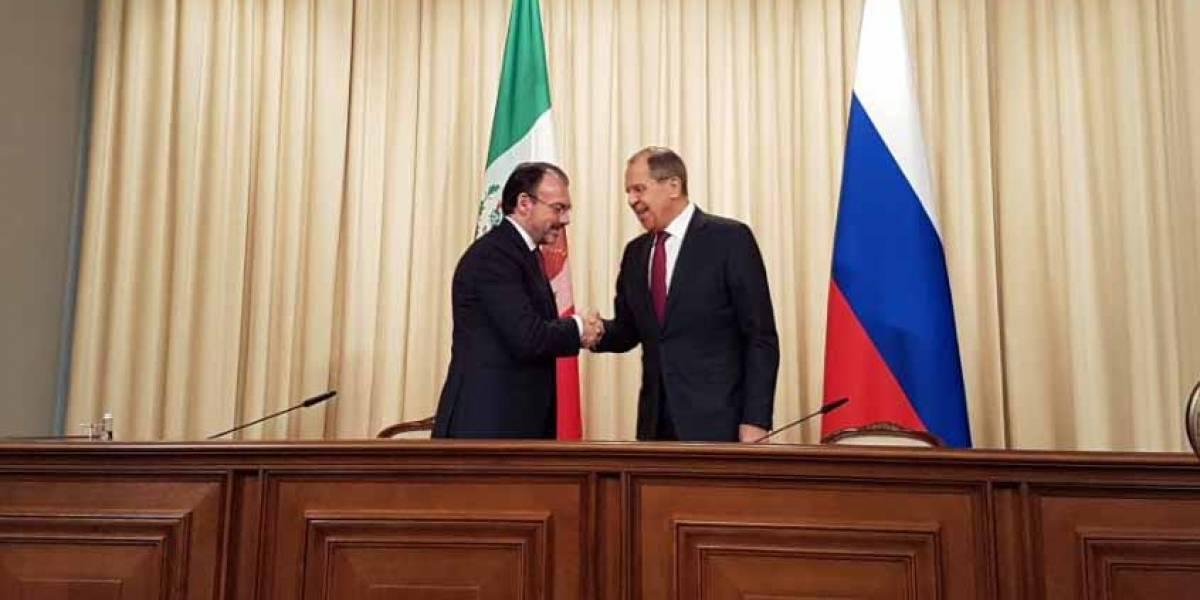 México y Rusia acuerdan fortalecer los  vínculos políticos y económicos