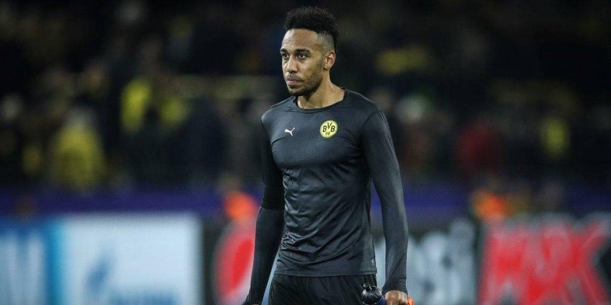Los atrasos de Aubameyang cansaron a Borussia Dortmund