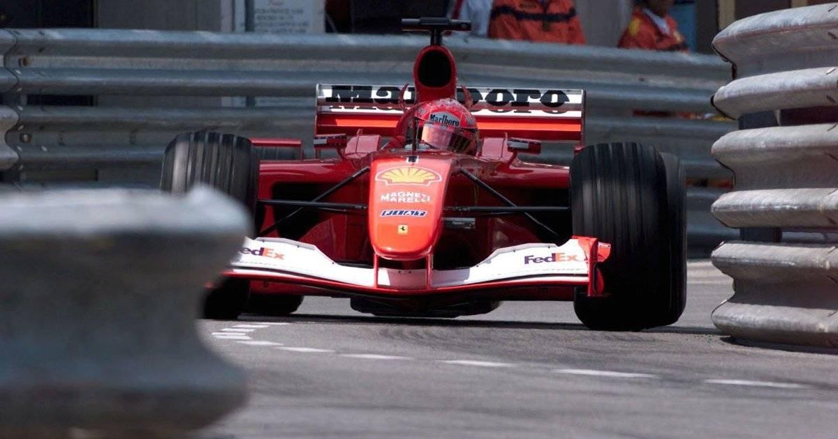 Ferrari de Schumacher