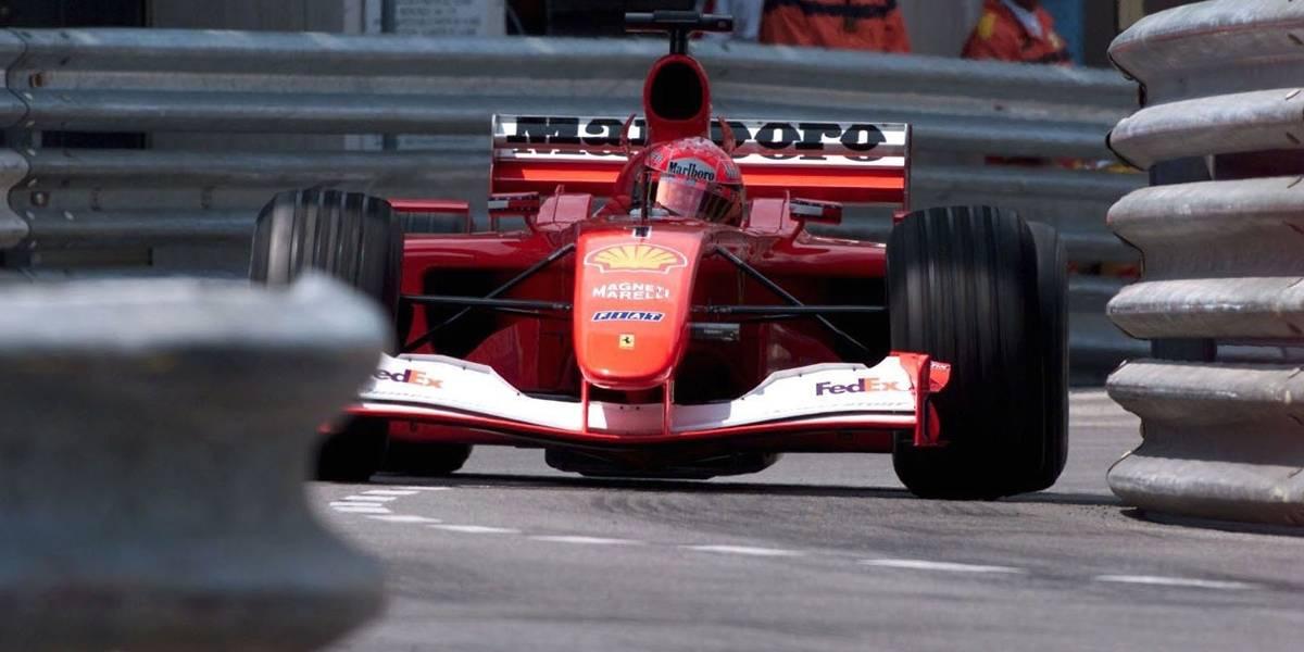 Ferrari da última vitória de Schumacher em Mônaco é arrematada em leilão