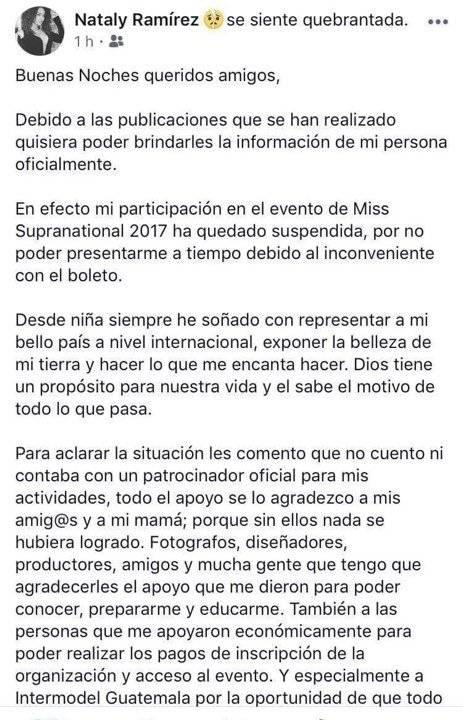 Facebook Nataly Ramírez