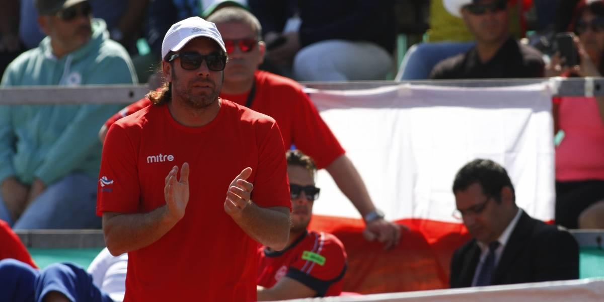 """Massú no olvida a Chile en su camino como coach: """"La Copa Davis es mi prioridad número 1"""""""