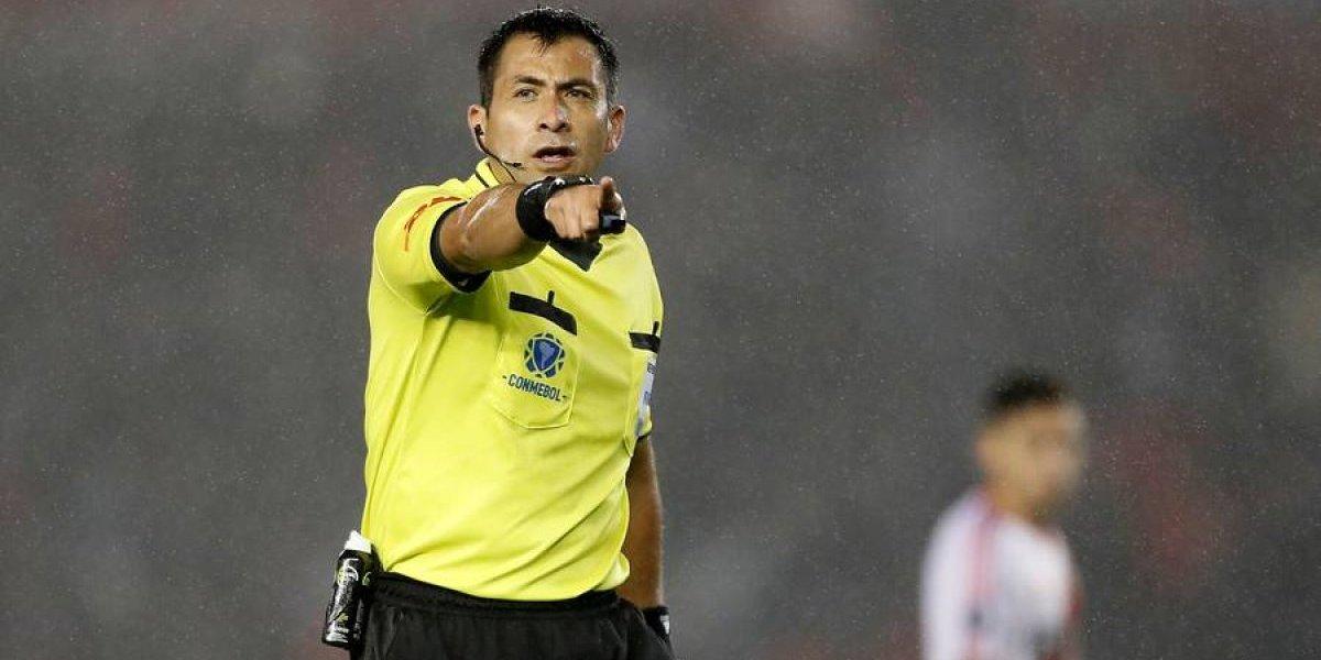 Julio Bascuñán representará al arbitraje chileno en el Mundial de Rusia 2018