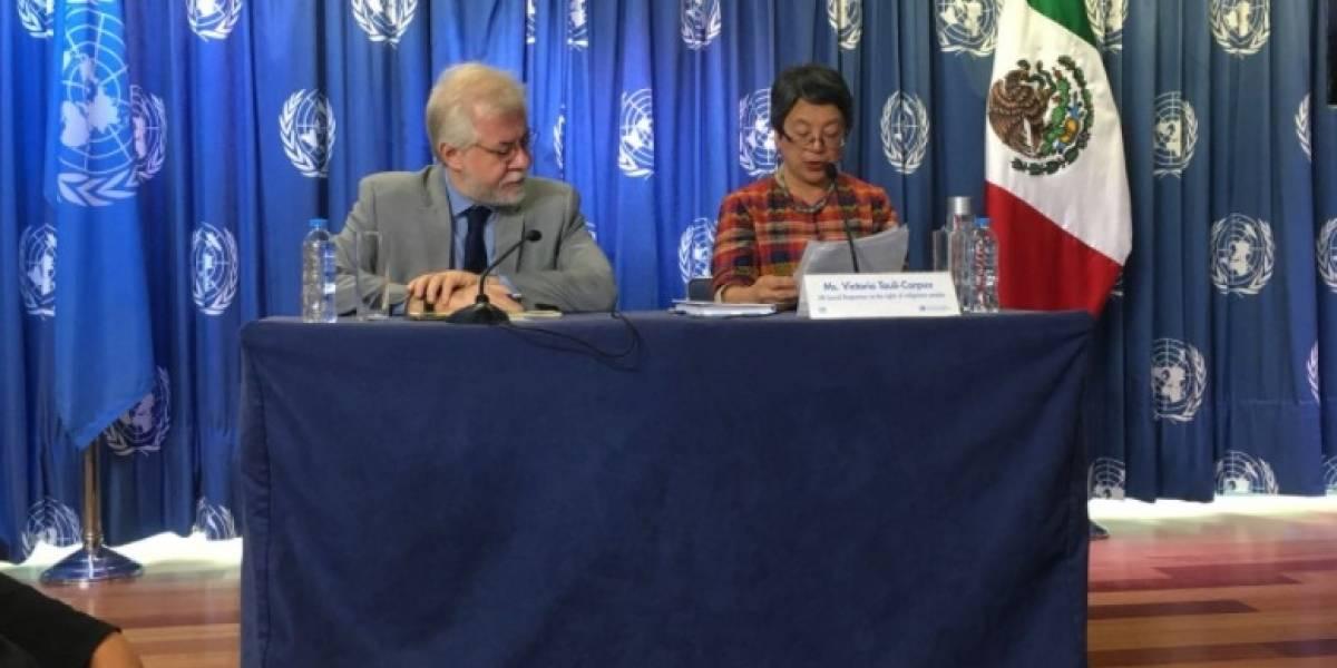Política e impunidad en México abona a discriminación indígena: ONU