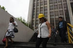 Simulacro de terremoto en Tribunales