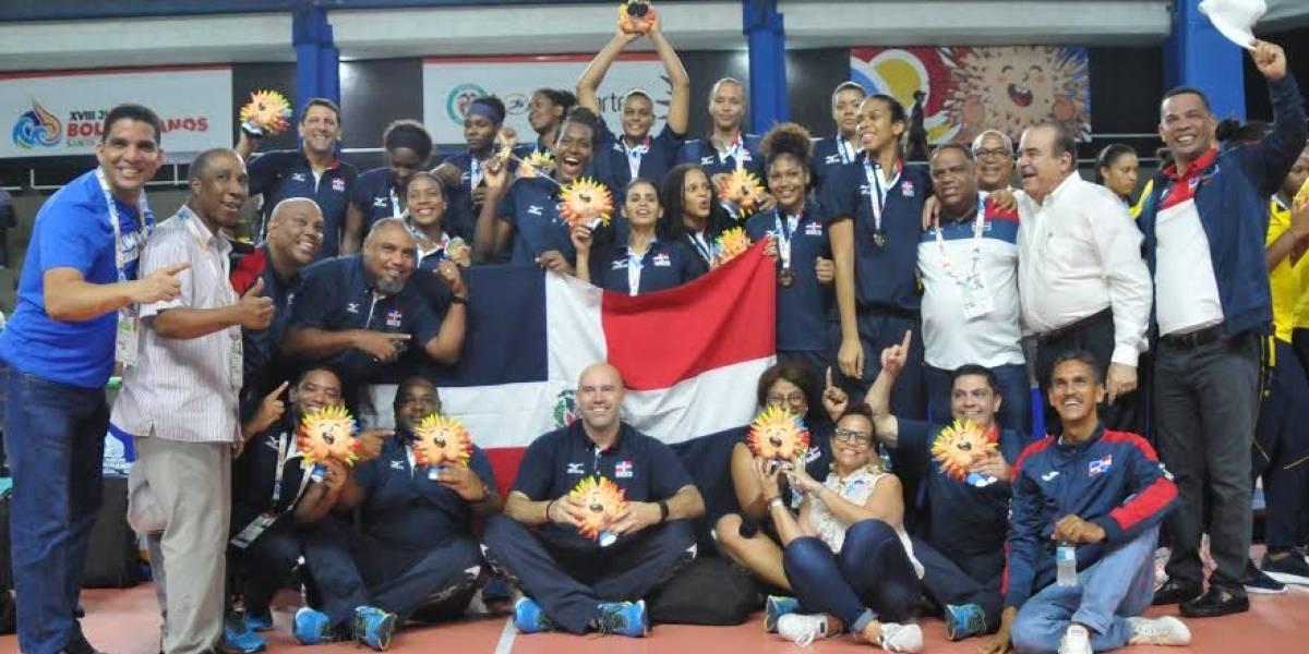 Voleibol dominicano gana oro en los Bolivarianos