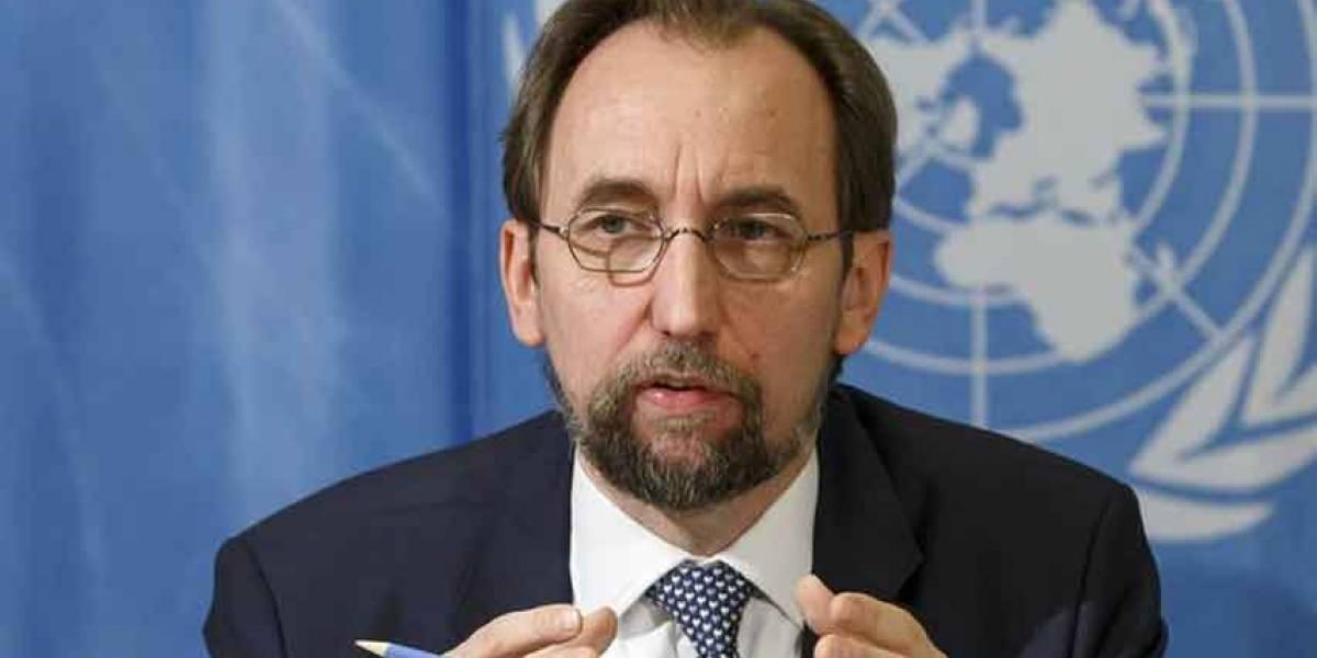 Alto comisionado de ONU trata situación de DDHH con presidente de Guatemala