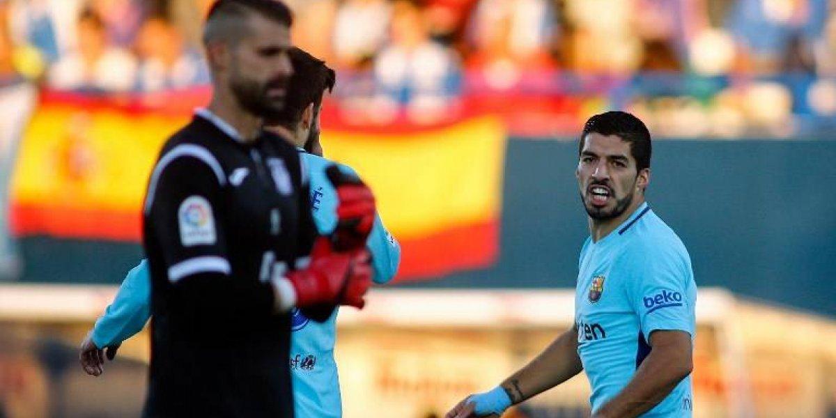 Luis Suárez recupera la sonrisa y el olfato goleador en victoria del Barcelona