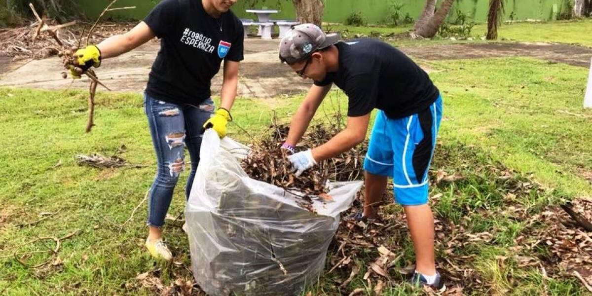 Estudiantes de la UPR ayudan a la recuperación de comunidades