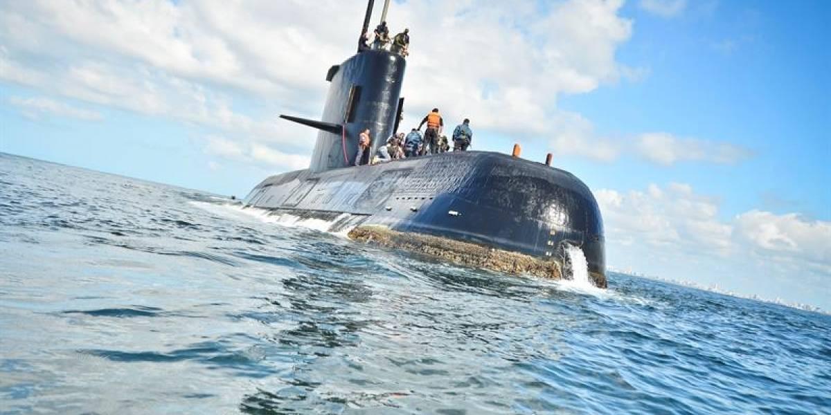 Chile se suma a la intensa búsqueda de submarino argentino desaparecido con 44 tripulantes