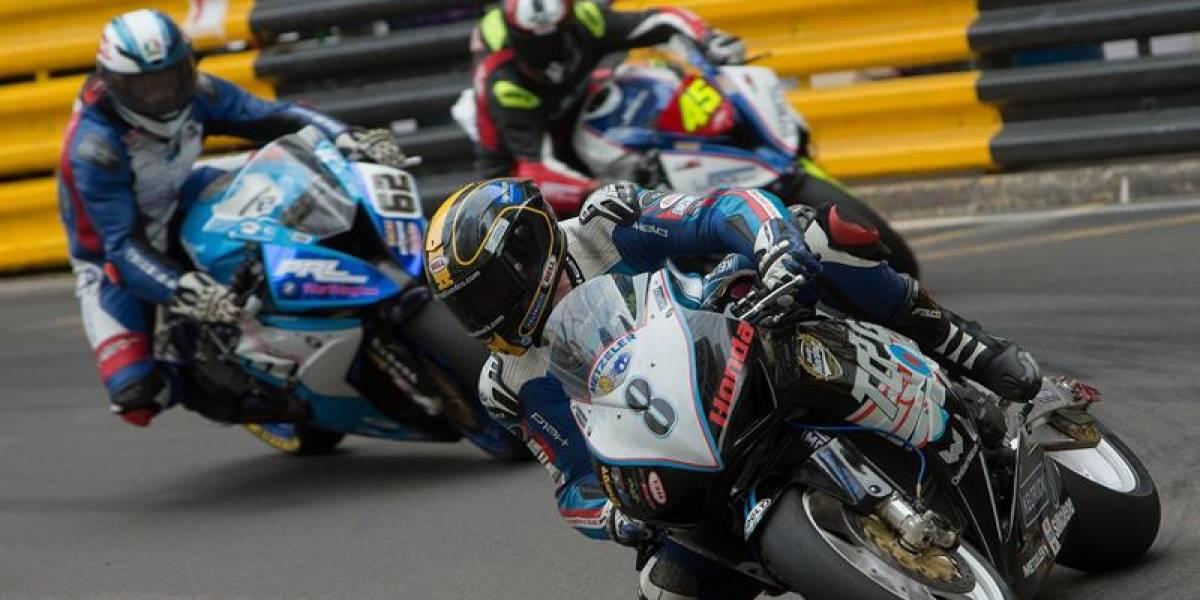 Motociclista británico murió en un accidente en el Gran Premio de Macao