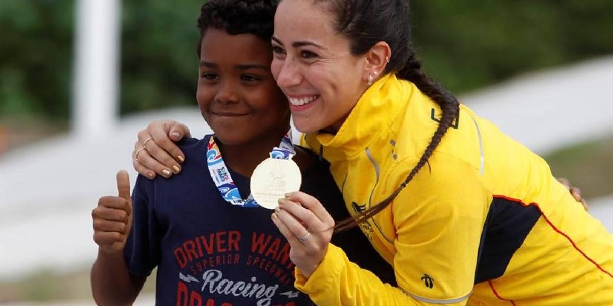 Mariana Pajón: dos oros en los Bolivarianos y embajadora para la reconciliación