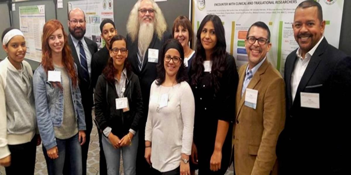 Estudiantes boricuas son coautores de cartel en prestigiosa conferencia de medicina