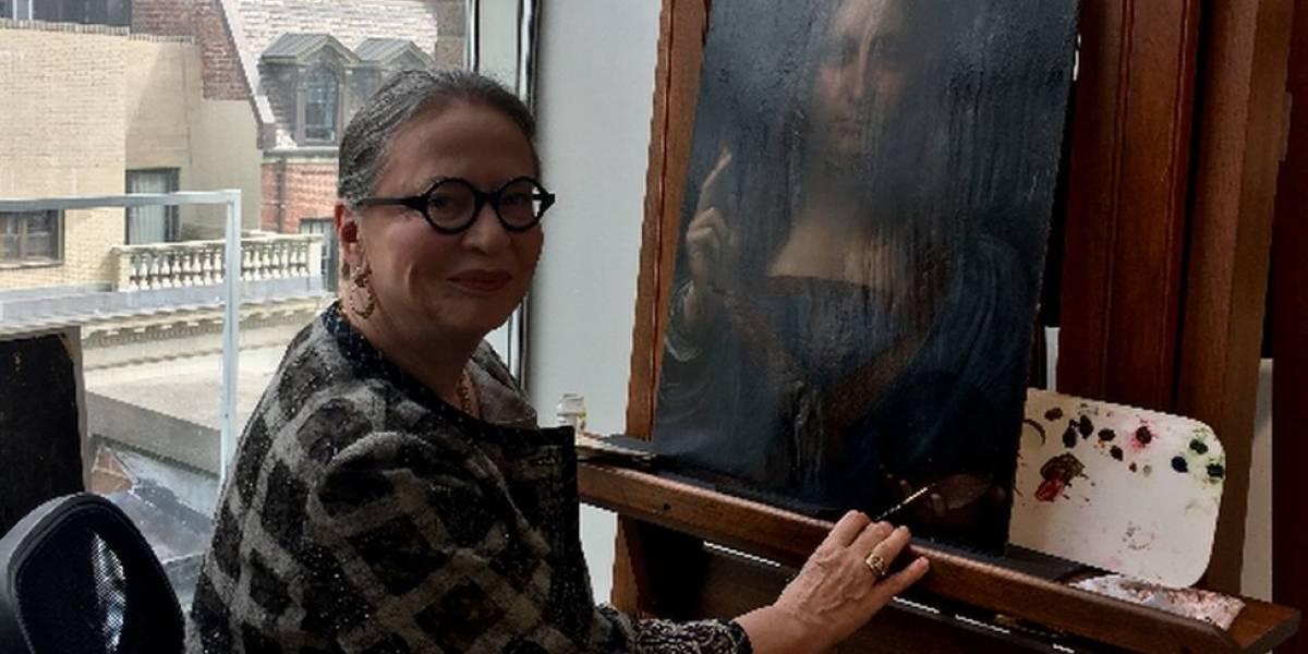 """""""No me importa el precio"""": Dianne Modestini, la mujer que restauró el cuadro """"Salvator Mundi"""" de Leonardo da Vinci, la pintura más cara jamás vendida"""