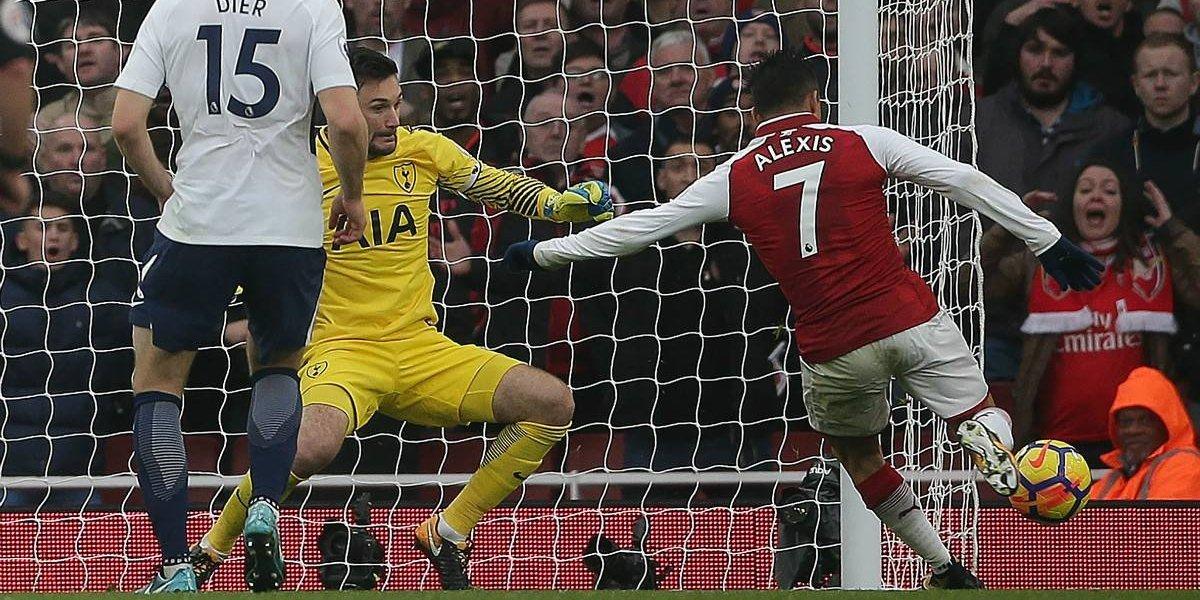 Maravilla de definición: Así fue el gol de Alexis en el clásico de Londres