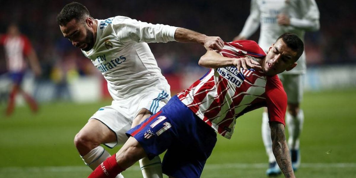 Atlético y Real Madrid empatan y dejan alejar al Barcelona